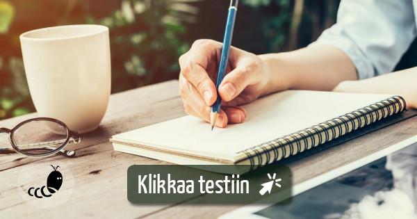 Mihin Opiskelemaan Testi
