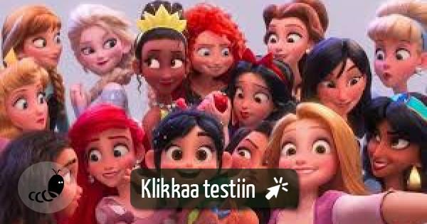 Kuka Disney Hahmo Olet