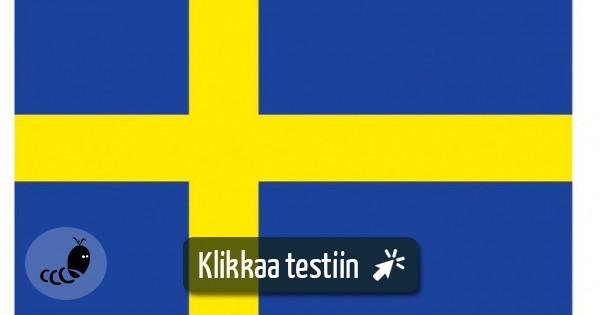 Jäätelö Ruotsiksi